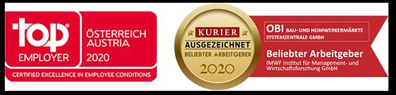 Auszeichnungen OBI